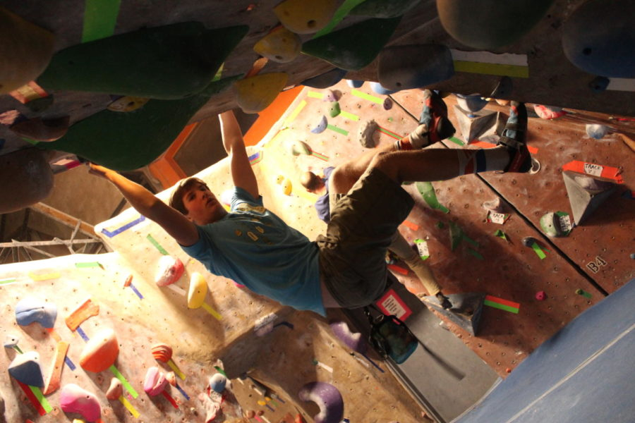 Senior+Mark+Paley+shares+his+new+favorite+activity%3A+rock+climbing.