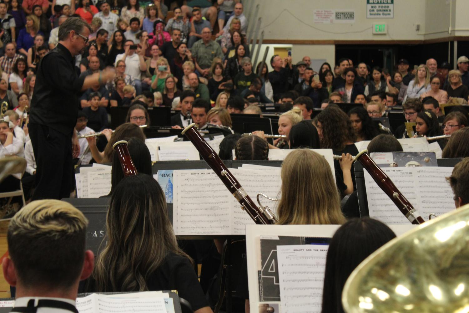 Spring Concert Has Music Department Banding Together