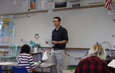 Mitchell McSweeney has taken over as a world history and economics teacher.