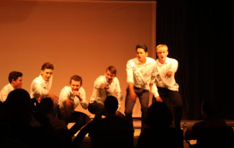 The GQ boys sing their opening song.