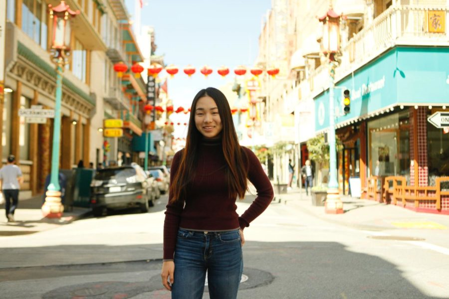 Violet Wang shares her childhood experiences in San Fransicso.