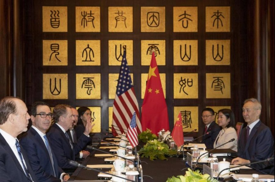 US and Chinese officials show signs of trade progress.