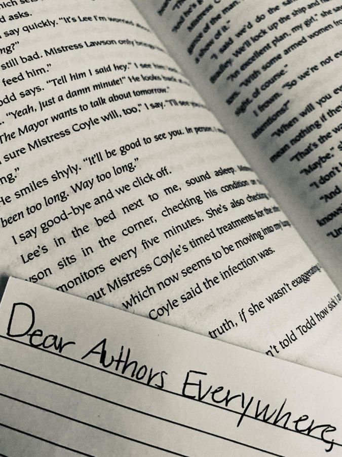 Dear Authors Everywhere...