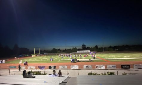 Class of 2021 Prom on the football field